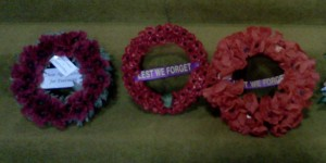 Remembrance Day Wreaths St Paul's