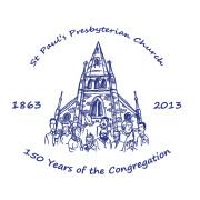 St Paul's logo royal blue