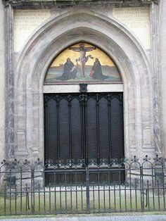 Reformation Door for nailed theses